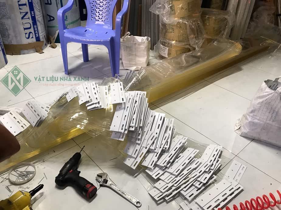 Gia công rèm nhựa PVC tại VLNX