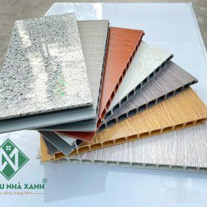 Bảng màu ván nhựa chịu lực PVC mới nhất