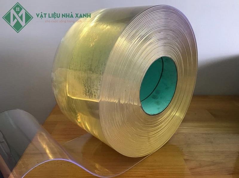 Màn, rèm nhựa PVC trong suốt