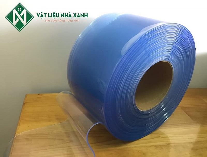 Màn nhựa PVC ngăn lạnh xanh trong