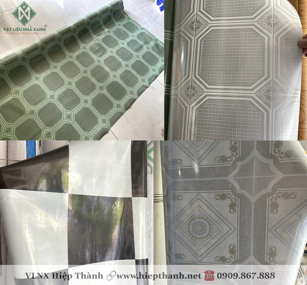 Các mẫu tấm simili trải sàn đẹp bán chạy nhất tại Vật Liệu Nhà Xanh