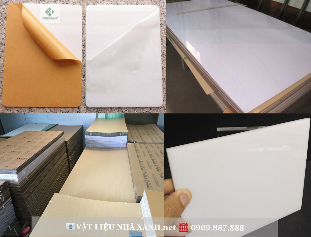 Tấm mica trắng đục, sản phẩm thông dụng, hữu ích